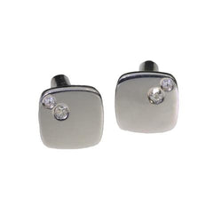 silver-cufflinks-two-diamonds