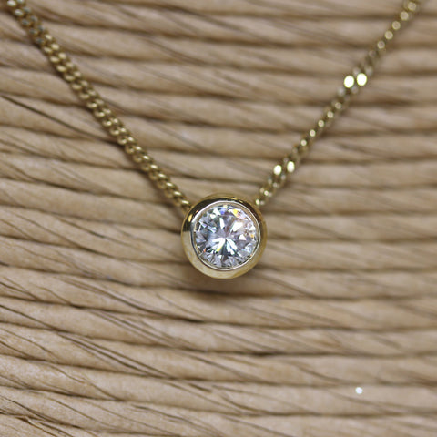 single-diamond-necklace