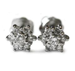star-shaped-diamond-cluster-earrings