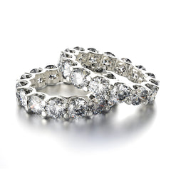 white-gold-pair-diamond-eternity-rings