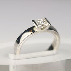 white-gold-square-diamond-ring