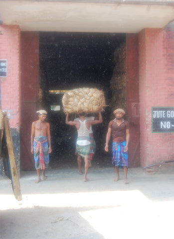 Works from the Jute Mill in Bangladesh
