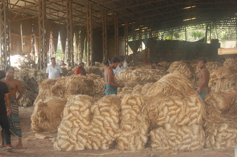 Jute in the Mill