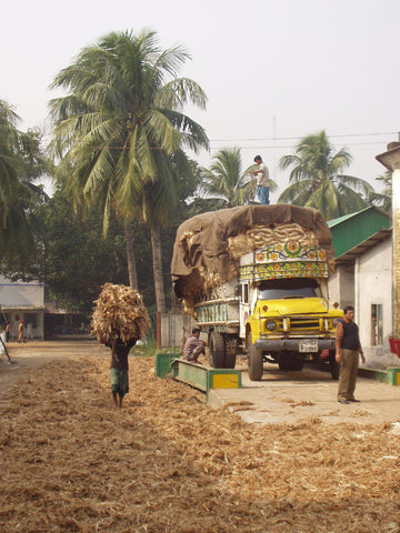 Mill workers in Bangladesh