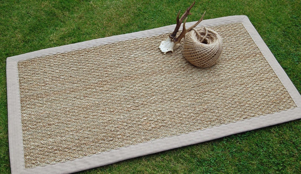 Natural Seagrass Rug for the Home by Nutscene