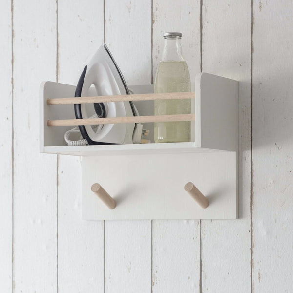 Melcombe Ironing Shelf in Lily White