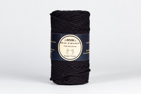 Macramé Cotton Cord Natural 100% Recycled -Nutscene Mac-Cramy