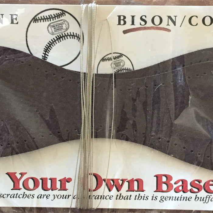 A possible pastime - build your own bison leather baseball