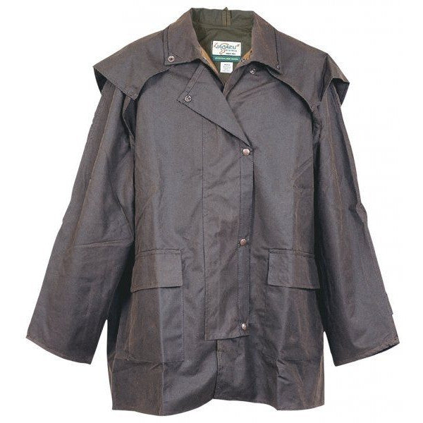 "SALE SALE - Aussie""Tracker"" Duster from Jacaru - True Australian Waxed Cotton Oil Cloth"