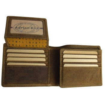 "#233 Klis bi-fold wallet, with ""extra's"""