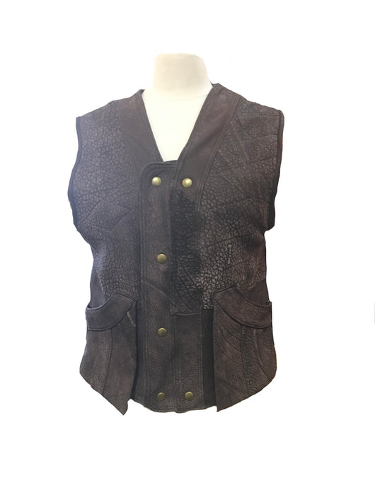 Bison Leather Hunting Vests