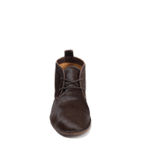 The Addy - ladies brown calf hair short boot