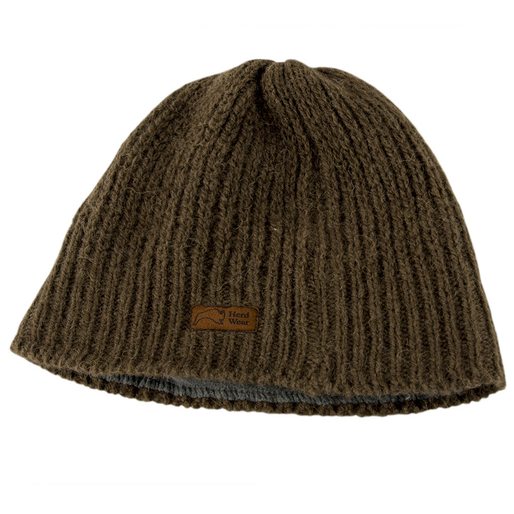 Original Bison Down Knit Beanie (Lined)