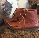 "The ""Herd Wear"" Bison Leather Medium sole Chukka by Footskins."