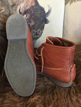 "They Are Here!! ... The ""Herd Wear"" Bison Leather Medium sole Chukka by Footskins"