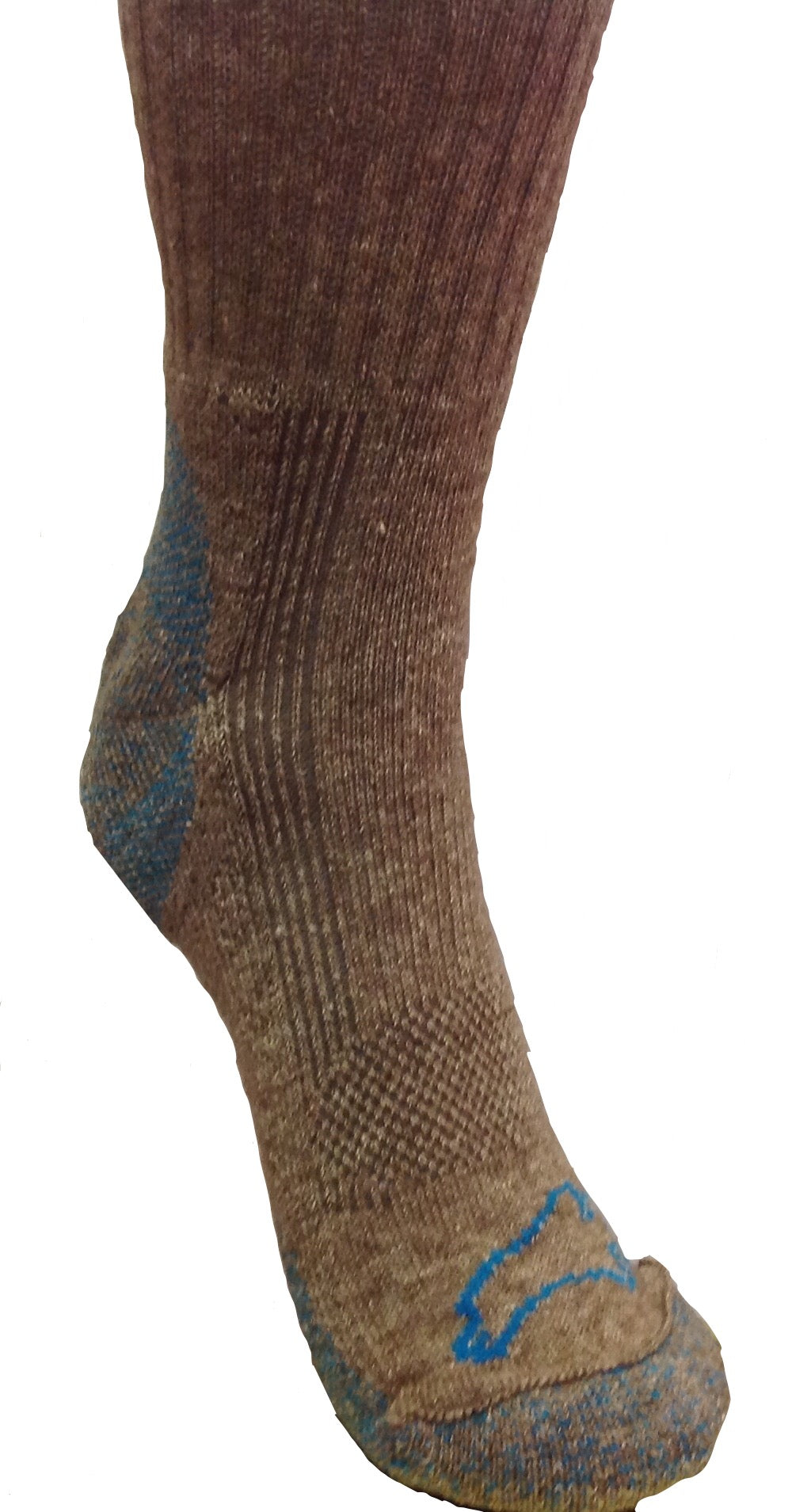 Pro-Gear Bison/Silk Blend Crew Sock