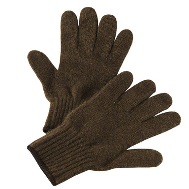 Bison Down Knit Gloves