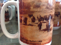 Coffee Mug Goodnight Buffalo Ranch 1899 / New York Zoo