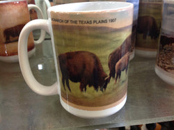 Coffee Mug Monarch of Texas Plains/Goodnight Buffalo 1911