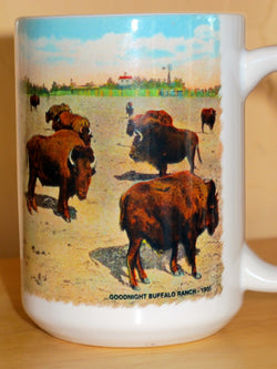 Coffee Mug Goodnight Buffalo Ranch 1905