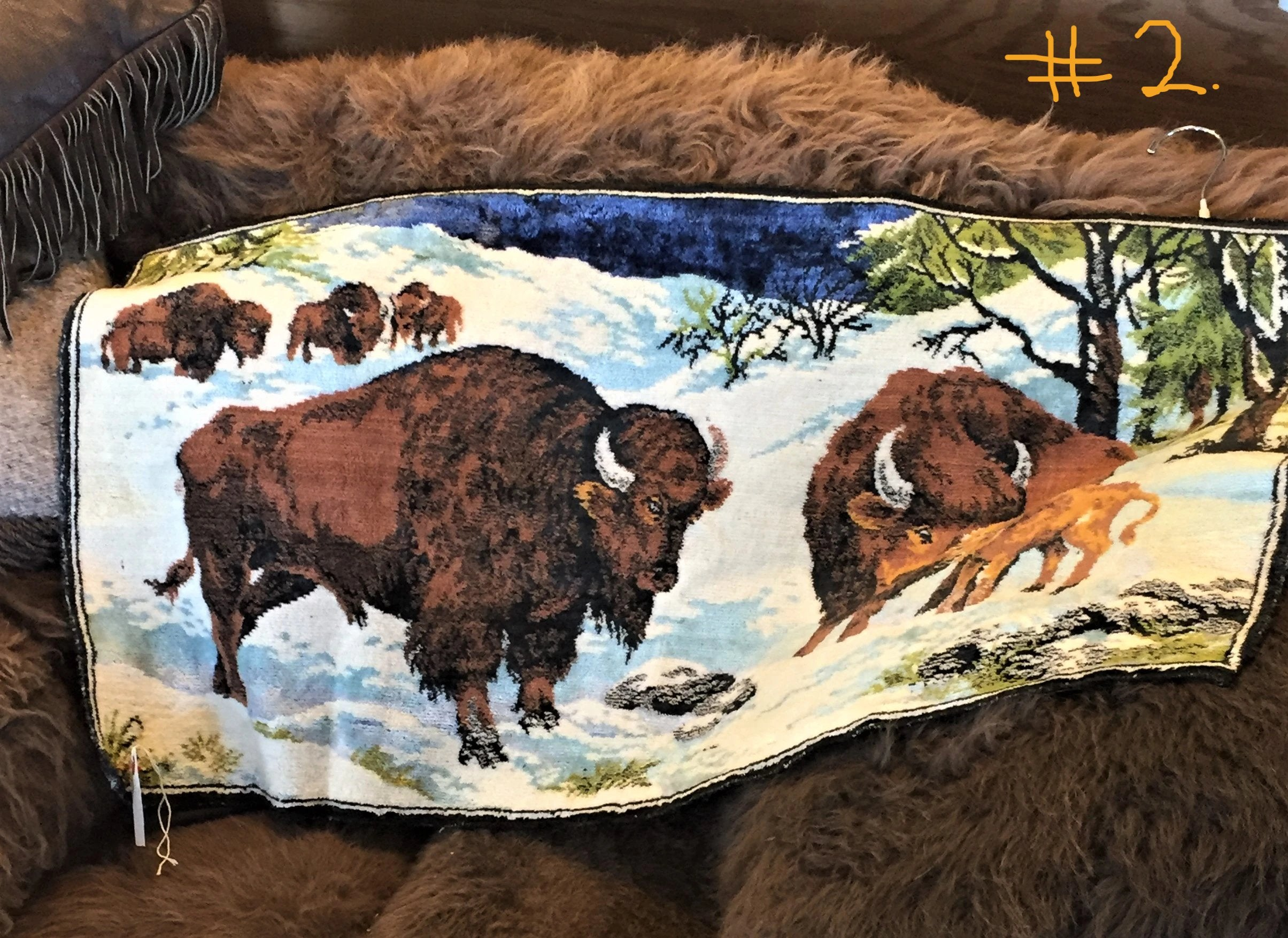 Bison Tapestries