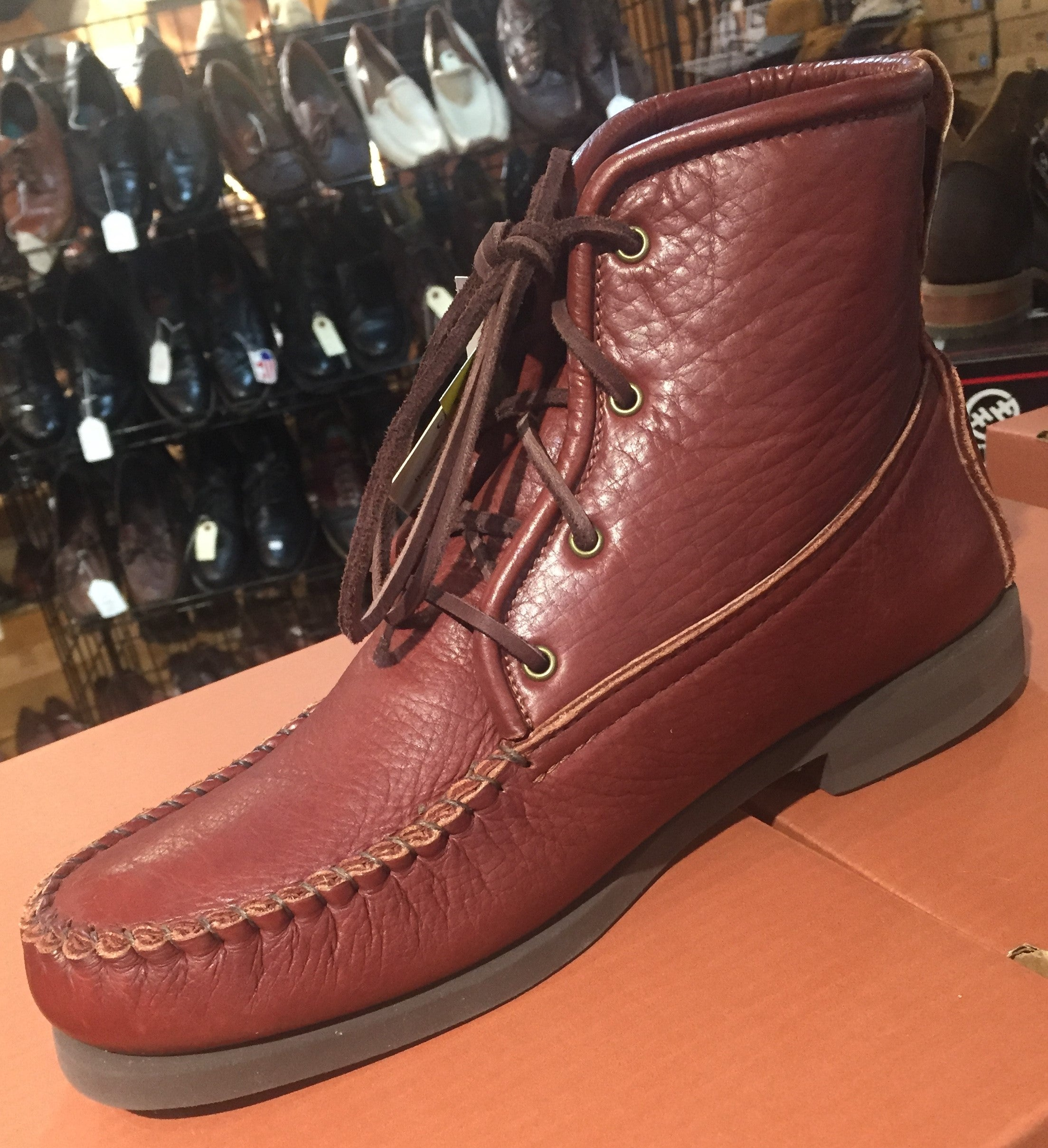 "A great boot!  The ""Herd Wear"" Bison Leather Medium sole Chukka by Footskins."