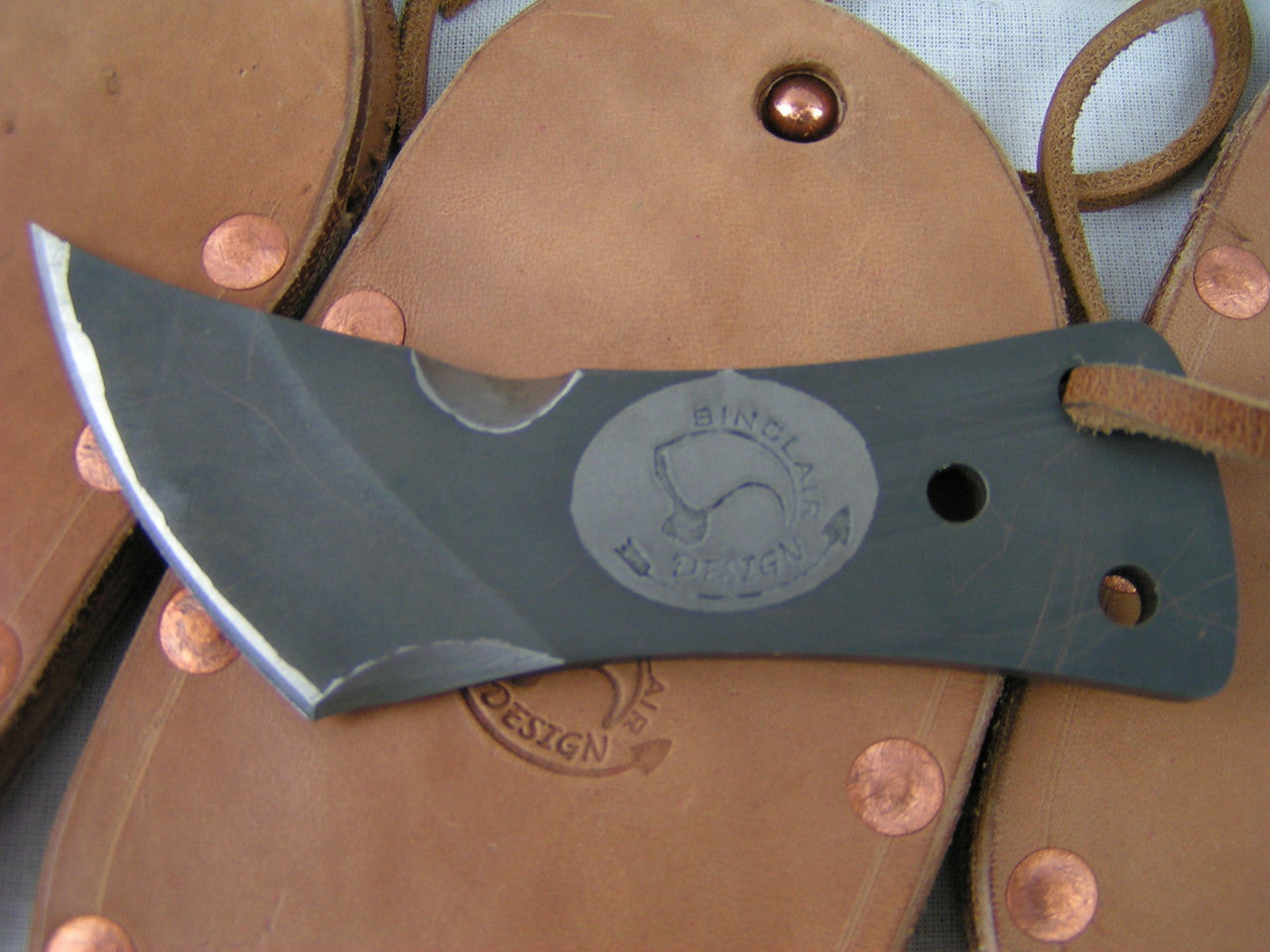 """Cody"" Paleolithic-Styled Pocket Knife by Charles Sinclair"