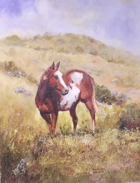 """Paint Me Happy"" - Oil Painting By Darlene Wright"