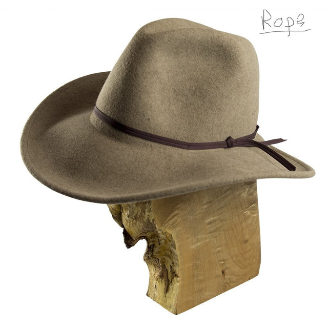 Palo Duro Bison Felt Hat (Color: Rope)