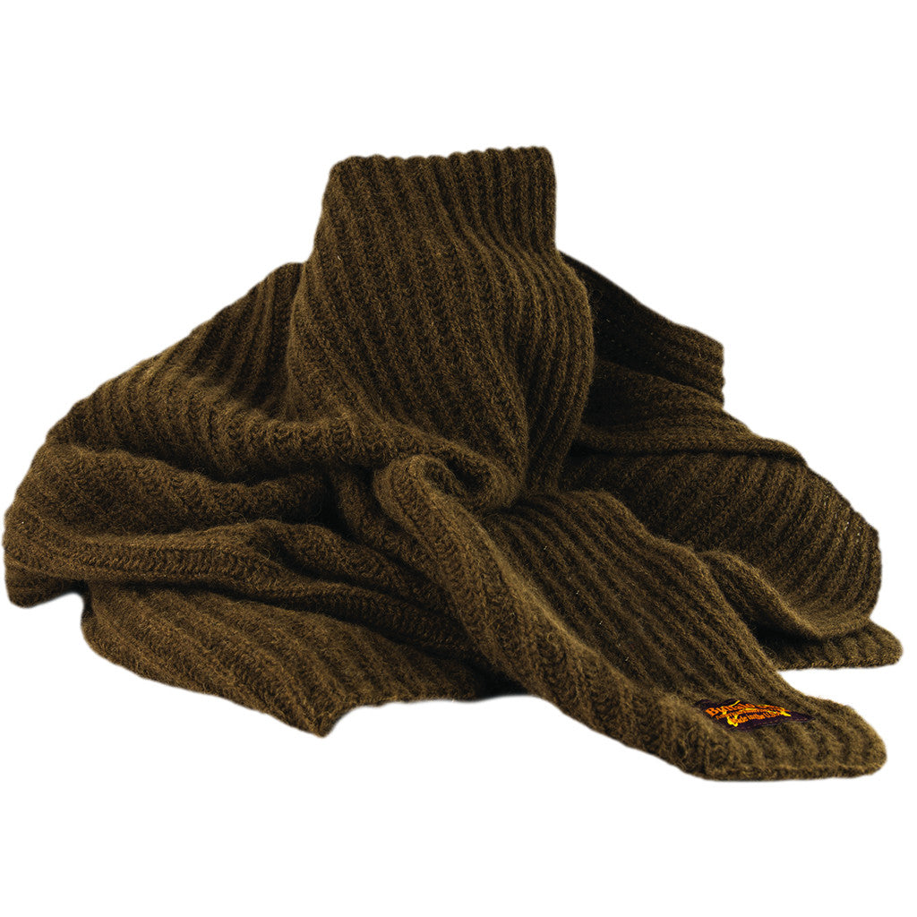 Bison Down Knit Scarf