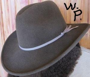 Palo Duro Bison Felt Hat (Color: Weathered Pecan)