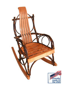 Bentwood Rocker - Amish made in Pennsylvania