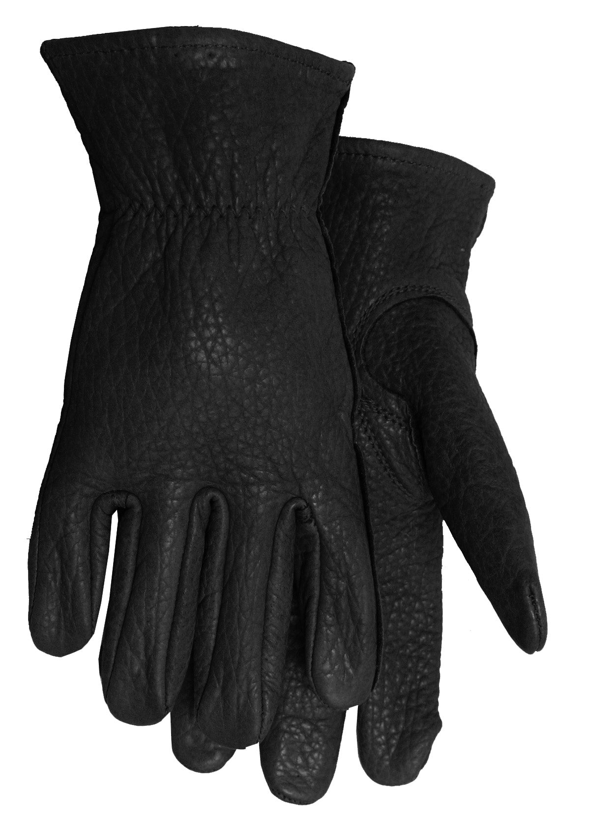 Midwest Glove - Black(ish) bison leather work glove