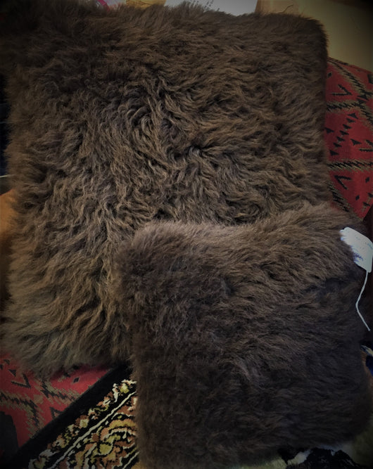 Buffalo Leather & Hide or Shearling Pillows