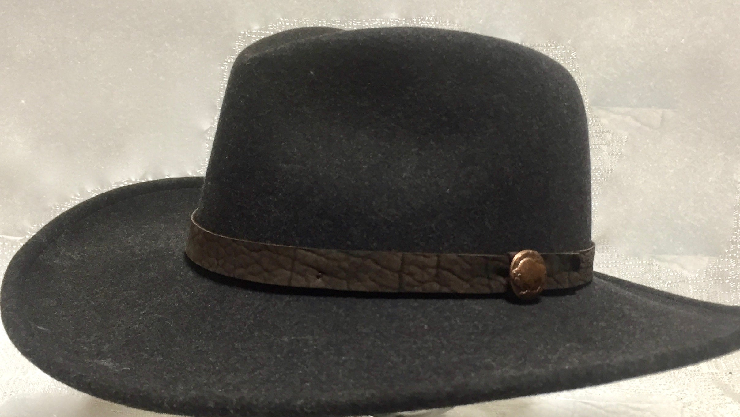 "The ""Maverick"" Bison Fiber Felt Hat"