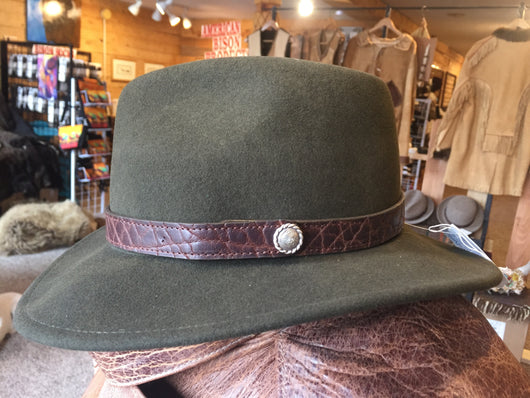 Caprock bison felt hat with Chacon hatband