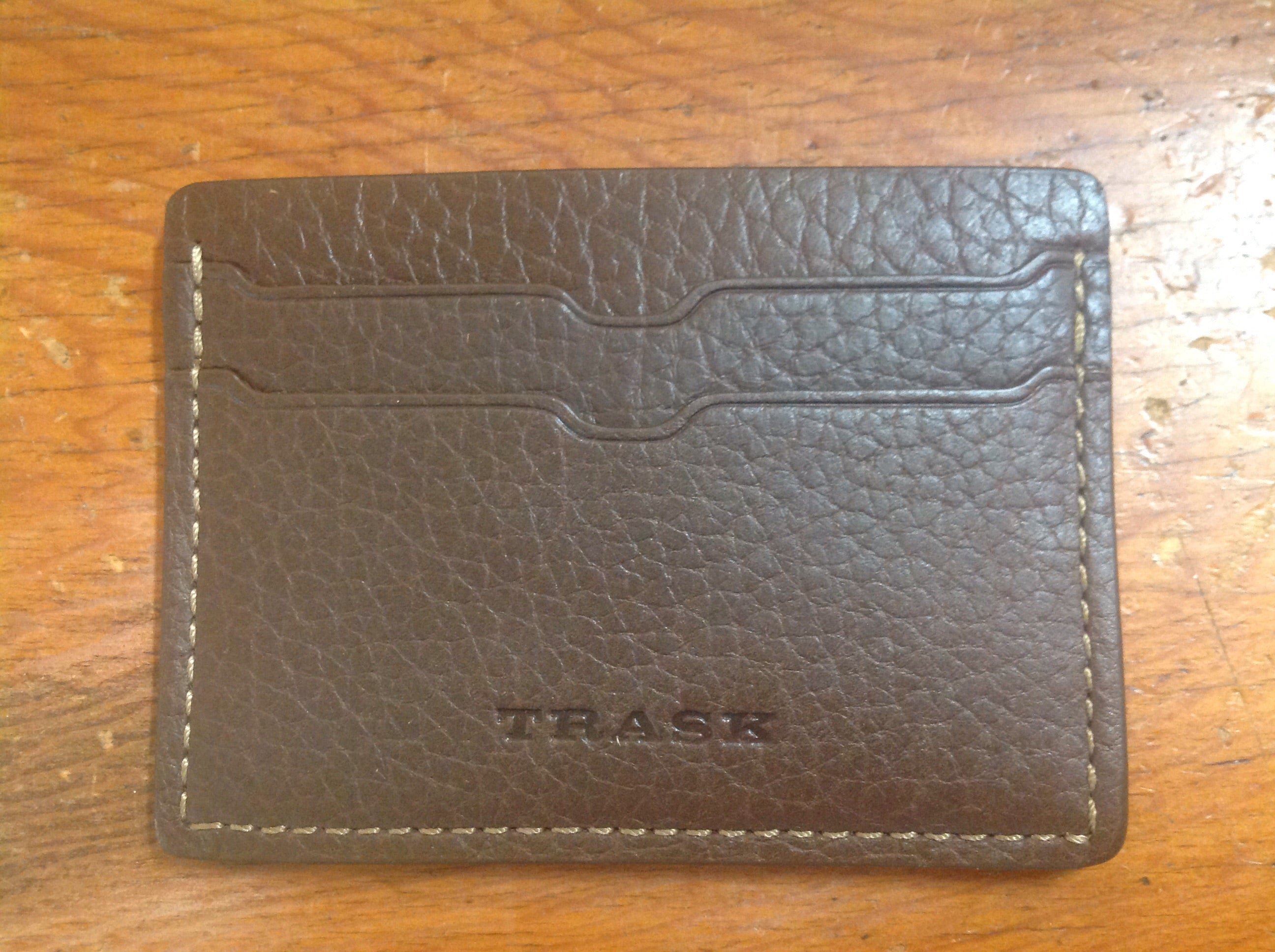 "Trask ""Weekender"" - credit card and license case"