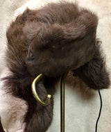 Russian Trooper Style Bison Hat