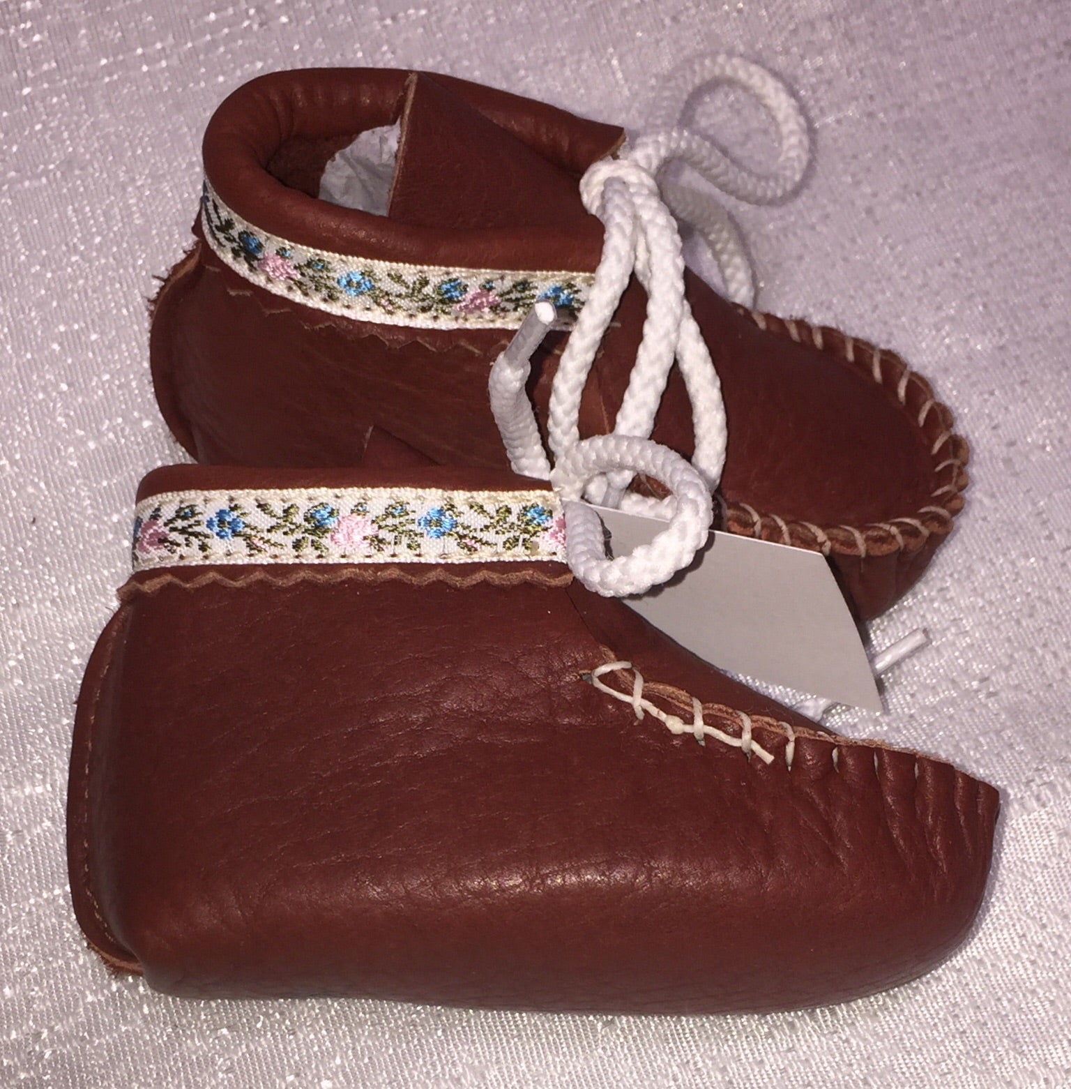 Footskins - Infant and Toddler Bison leather Booties  $27.50- to $32.50