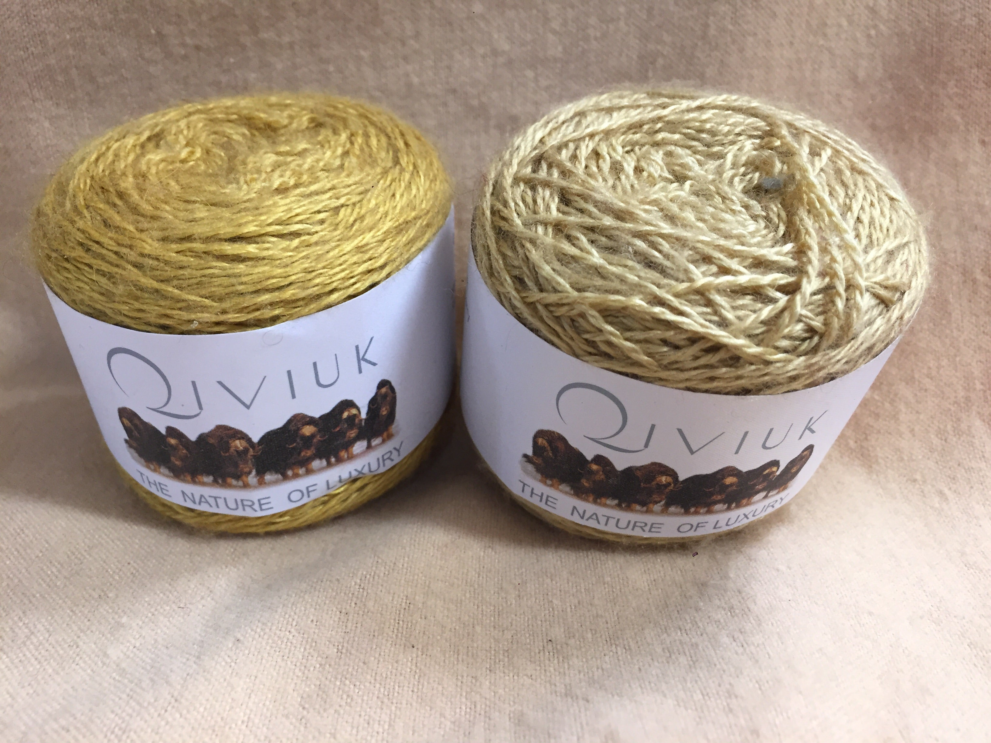 Qiviuk/Silk 50/50 Yarn Group #V