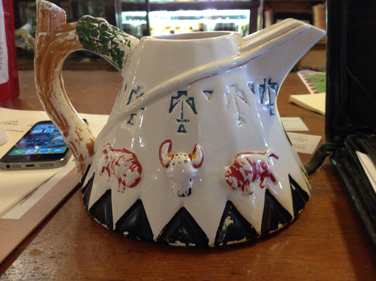 Teepee pitcher