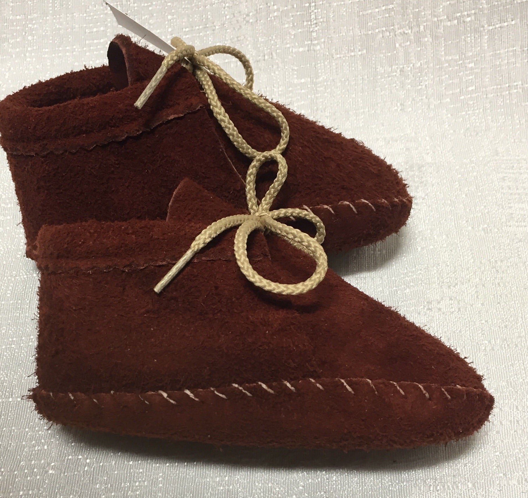 Footskins - Infant and Toddler Bison leather Booties  - $30 -$40