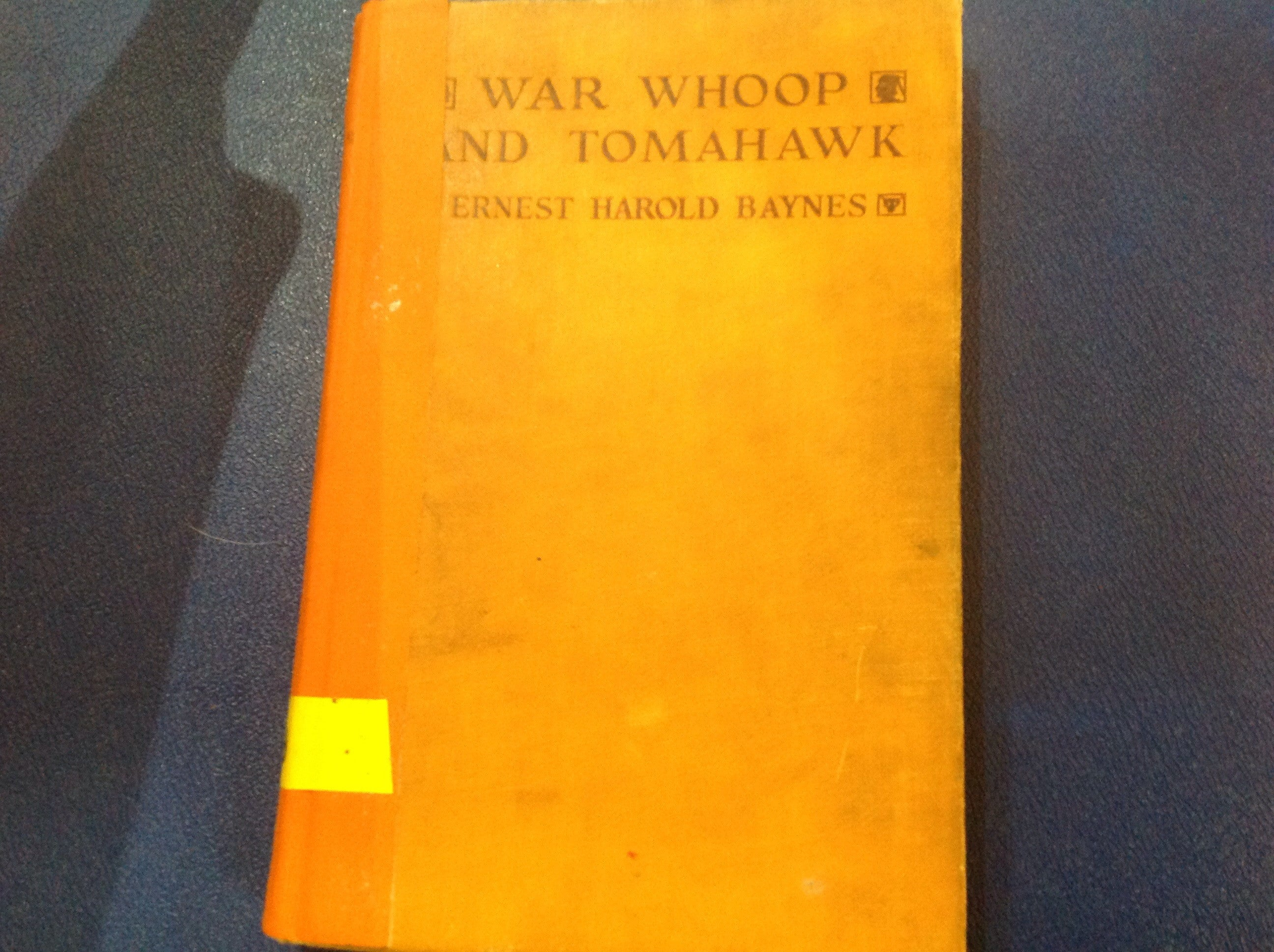BOOKS - War Whoop and Tomahawk