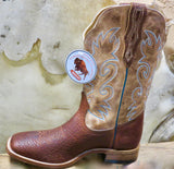 Men's Boulet Bison Leather Rodeo Boot - 6325