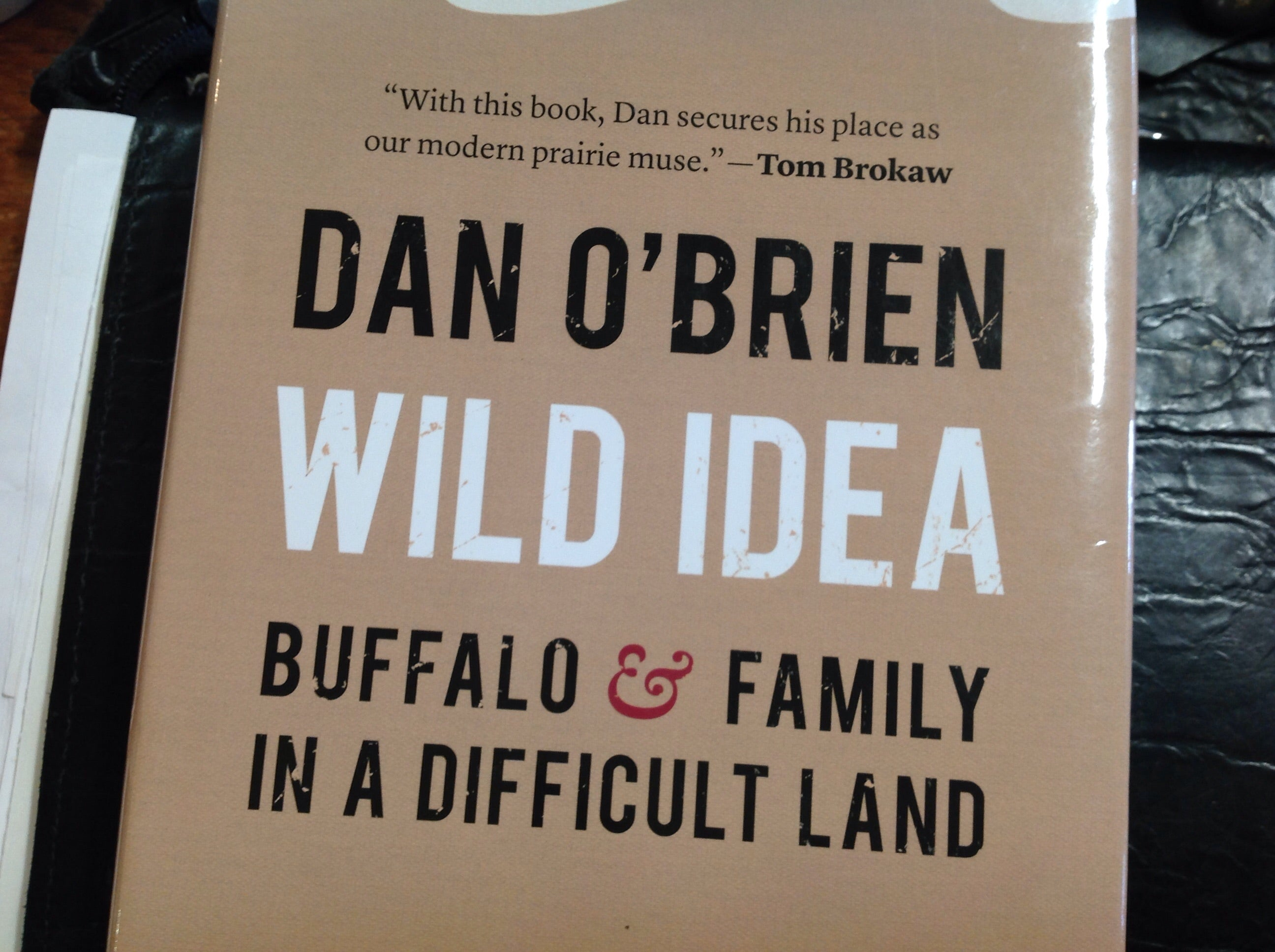 Books - Wild Idea by Dan O'Brien