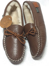 Footskins Bison Leather Slipper Women's B-2200s MS