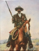 """Bass Reeves; Frontier Lawman"", by Texas artist Jack Sorenson"