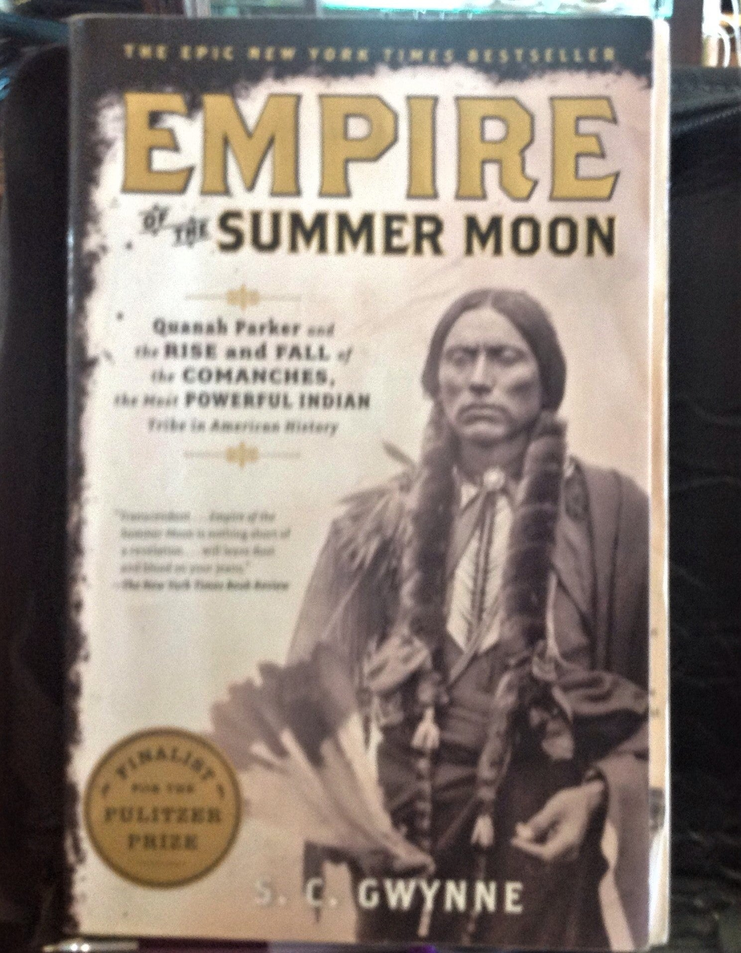 BOOKS - Empire of the Summer Moon