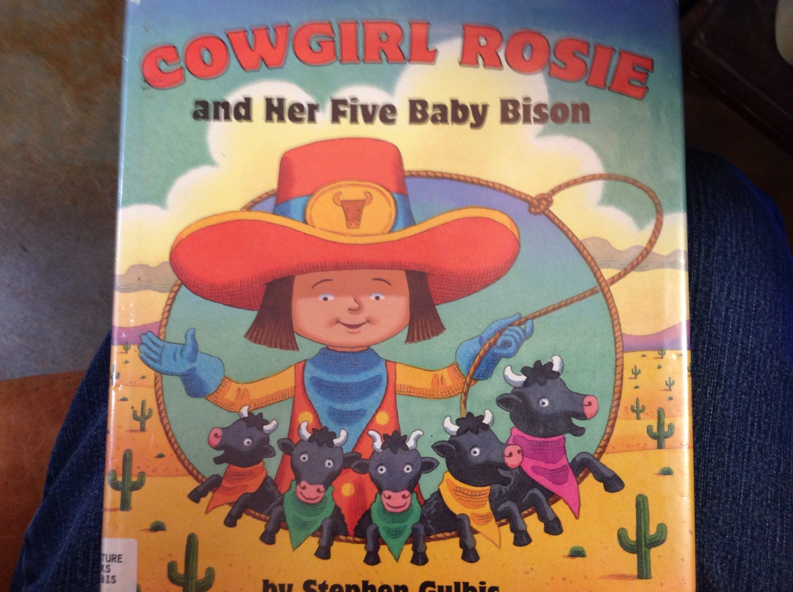 BOOKS - Cowgirl Rosie and Her Five Baby Bison