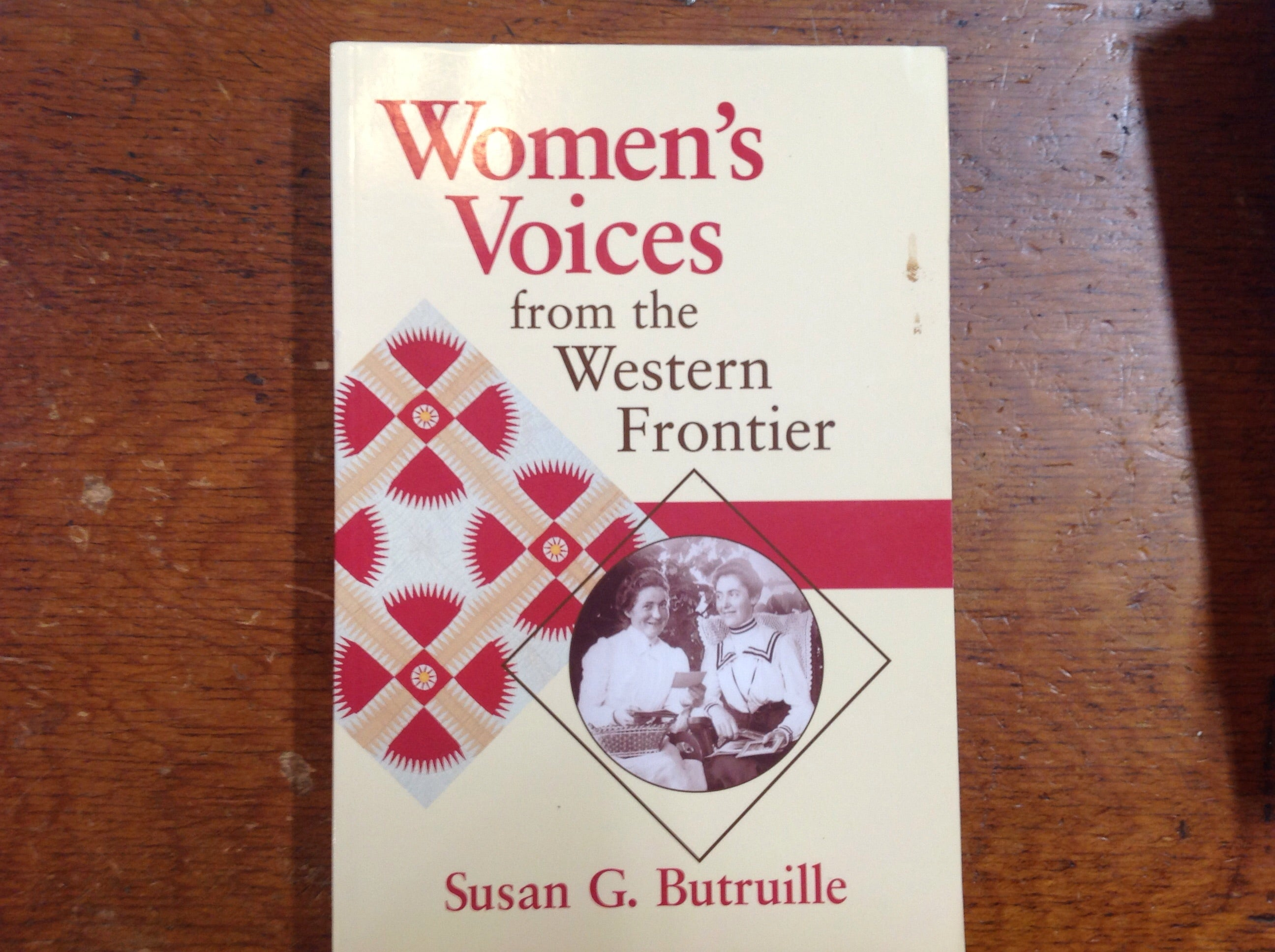 BOOKS - Women's Voices from the Western Frontier